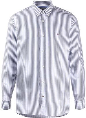 Tommy Hilfiger Long Sleeve Stripe Print Shirt