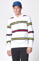Obey Whitmore Striped Pullover Hoodie