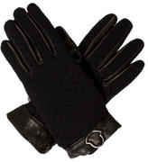 Moncler Quilted Leather Gloves w/ Tags