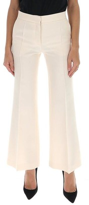 Valentino Cropped Flare Leg Pants