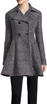 Liz Claiborne Ladylike Wool-Blend Coat - Tall