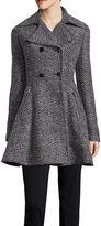 Liz Claiborne Ladylike Wool-Blend Coat