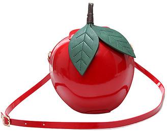 Ella & Elly Women's Handbags Red - Red Apple Crossbody Bag