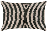 Found Object Zebra Hand-Woven Pillow