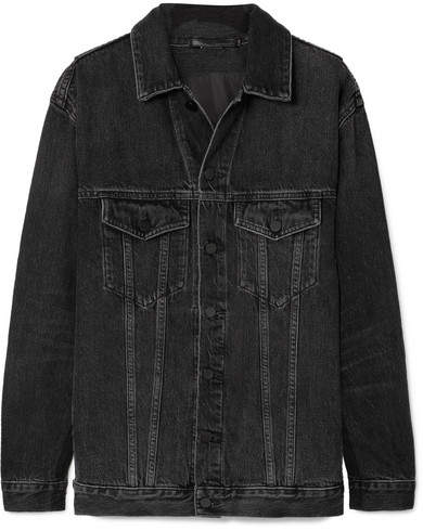 Alexander Wang Daze Denim Jacket - Gray