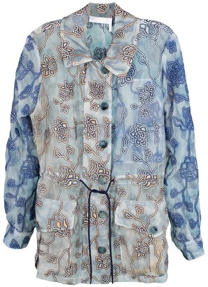Chloé Organza Embroidered Jacket