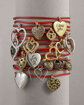 Lucky Brand Accessories & Beyond Lucky Charm Bracelets, Red