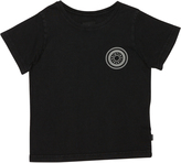 St Goliath Tots Boys Rounded Tee Black