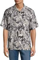 Tommy Bahama Men's Leaves-Print Button-Down Shirt
