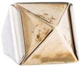 Givenchy Pyramid Cocktail Ring