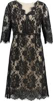 Cream ADRIANA Summer dress pitch black