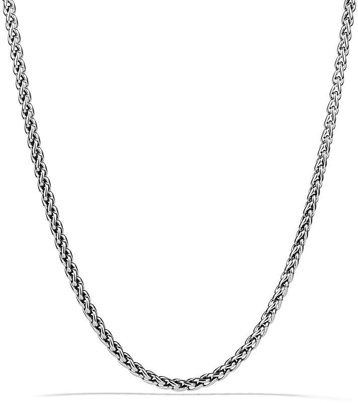 David Yurman Small Wheat Chain Necklace, 16""