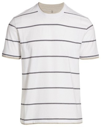 Brunello Cucinelli Striped T-Shirt