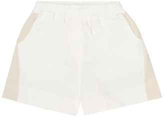 BRUNELLO CUCINELLI KIDS Stretch-cotton shorts