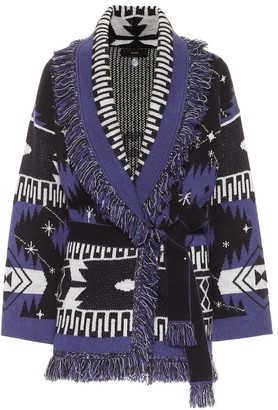 Alanui Cosmic Icon belted cashmere cardigan