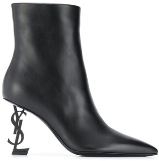Saint Laurent Opyum 85 ankle boots