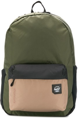 Herschel Rundle panelled backpack