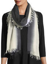 Eileen Fisher Wool-Silk Ombre Scarf