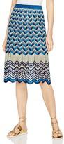 BCBGMAXAZRIA Vida Mixed Marled Skirt