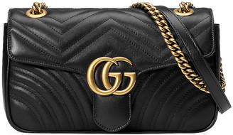 Gucci GG Marmont 2.0 Shoulder Bag in Black | FWRD