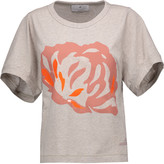 adidas by Stella McCartney Printed cotton T-shirt