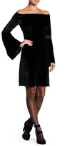Yoana Baraschi Velvet Underground Off-The-Shoulder Body Dress