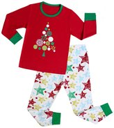 "Kidsmall ""Christmas Tree"" Girls Boys Christmas Pajamas Baby Sleepwear"
