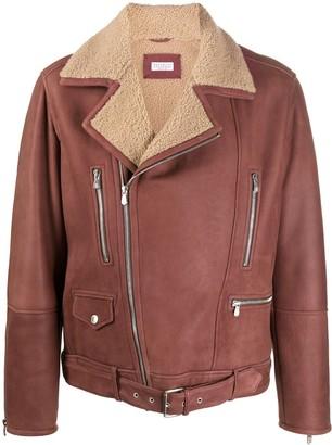 Brunello Cucinelli Zipped Aviator Jacket
