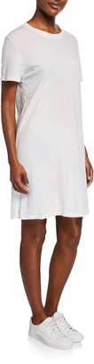Current/Elliott The Beatnick Crewneck Short-Sleeve Dress