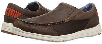 Tommy Bahama Paradise Around (Dark Brown) Men's Shoes