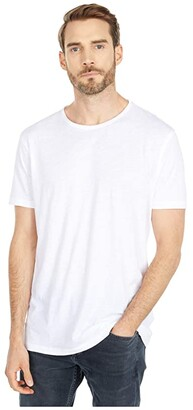 AllSaints Figure Crew Tee (Jet Black) Men's Clothing