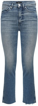 3x1 Eiza High Waist Straight Leg Crop Jeans