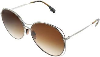 Burberry Women's 0Be_3105_100513_60 60Mm Sunglasses