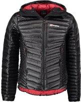 Berghaus Down Jacket Jet Black/red Dahlia