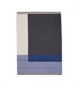 ferm LIVING Colour Block Organic Cotton Blanket 180x130cm