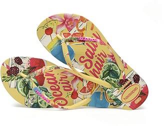 Havaianas Slim Summer (Silk Rose) Women's Sandals
