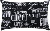 """B. Smith The Vintage House by Park Cheer"""" Tapestry Oblong Throw Pillow"""