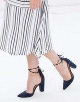 Spurr Palmera Lace-Up Block Heels
