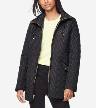 Cole Haan Barn Jacket With Hood