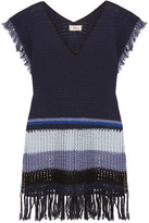 Lemlem Kidan fringed crocheted cotton dress