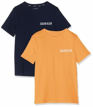 Calvin Klein Boy's 2PK TEES Pyjama Top