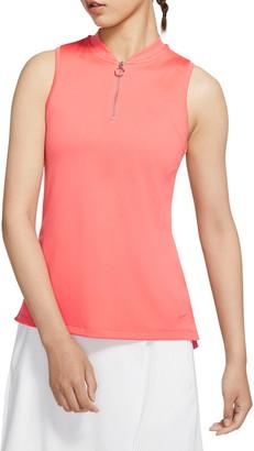 Nike Dri-FIT Sleeveless Golf Polo