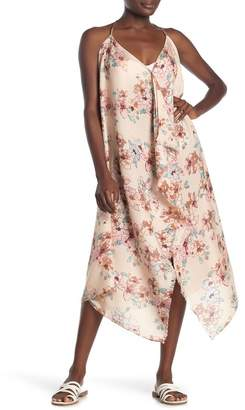 Pool' POOL TO PARTY V-Neck Floral Print Cover-Up