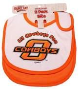 Bed Bath & Beyond Oklahoma State University 2-Pack Infant Bib
