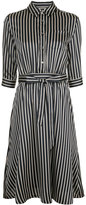 GUILD PRIME striped shirt dress