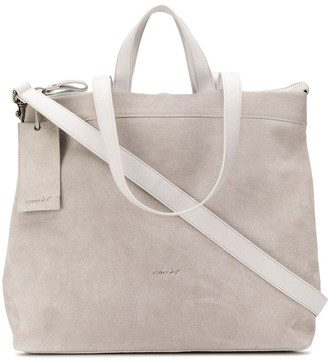 Marsèll large faded-effect tote bag