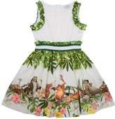 MonnaLisa Jungle Book Sequin Dress