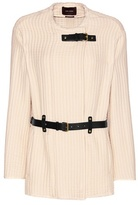 Isabel Marant Glasco Leather-trimmed Cotton Jacket