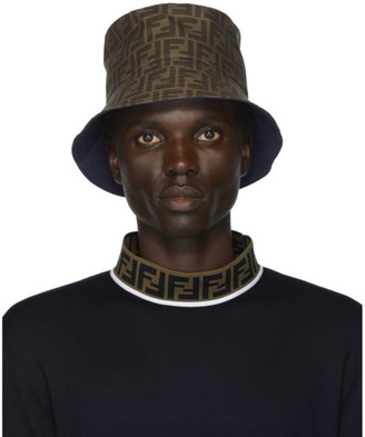 Fendi Reversible Blue Forever Bucket Hat
