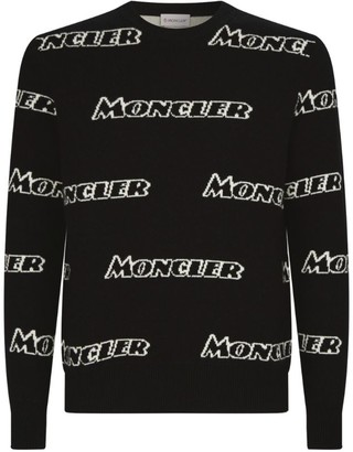 Moncler Wool Logo Sweater